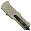 HK FDE Mini Incursion OTF Auto Knife, Tumbled Blade [Exclusive] Back
