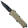 HK FDE Mini Incursion OTF Auto Knife, Black Blade [Exclusive]