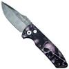 Pro-Tech Skulls #2 SBR Auto Knife, Damascus Blade