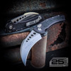 Microtech Hawk Auto Knife, Stonewash Blade IG VIEW