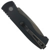 Pro-Tech TR-2 Auto Knife, NIB BATTLEWORN Blade REAR VIEW