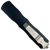 Microtech Dirac Dagger OTF Auto Knife, Stonewash Blade REAR VIEW