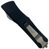 Microtech Troodon Hellhound OTF Auto Knife, Apocalyptic Stonewash Blade REAR VIEW