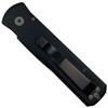 Pro-Tech Left Hand Godson Auto Knife, Black Blade REAR VIEW