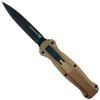 Benchmade Burnt Bronze Infidel OTF Auto Knife, CPM-S30V Blade