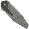 Boker Plus Federal Flipper Knife, Satin Blade REAR VIEW