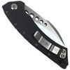 Marfione Custom Hawk Auto Knife, Mirror Blade REAR VIEW