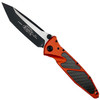 Microtech Orange Socom Elite Tanto Folder Knife, Carbon Fiber, Black Blade