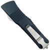 Microtech Combat Troodon OTF Auto Knife, Apocalyptic Stonewash Blade REAR VIEW