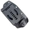 Microtech Socom Alpha Mini Fixed Blade Knife, Stonewash Blade SHEATH VIEW