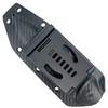 Microtech Socom Alpha Fixed Blade Knife, Stonewash Combo Blade SHEATH VIEW
