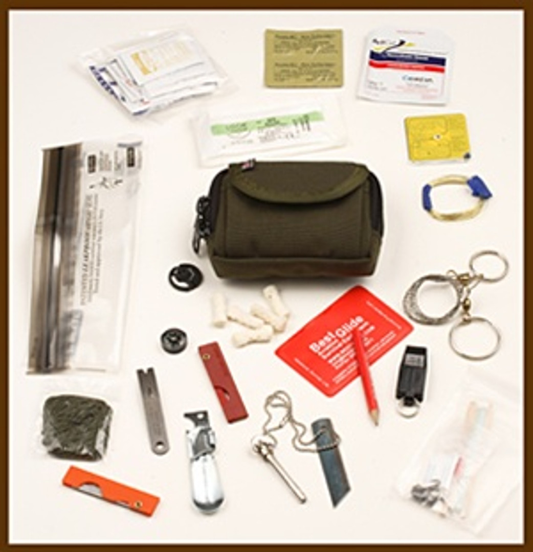 ESEE Rat Cutlery BASIC Professional Survival Kit/ E&E Pocket Emergency Kit
