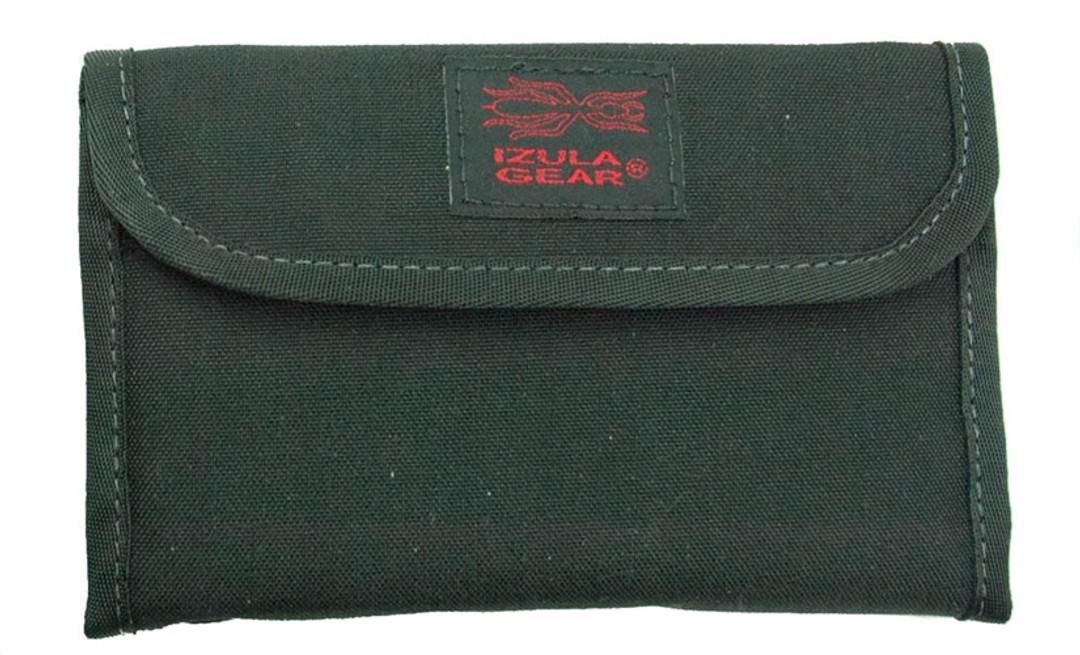 ESEE Izula Gear Passport Case with Bullet Pen, Black