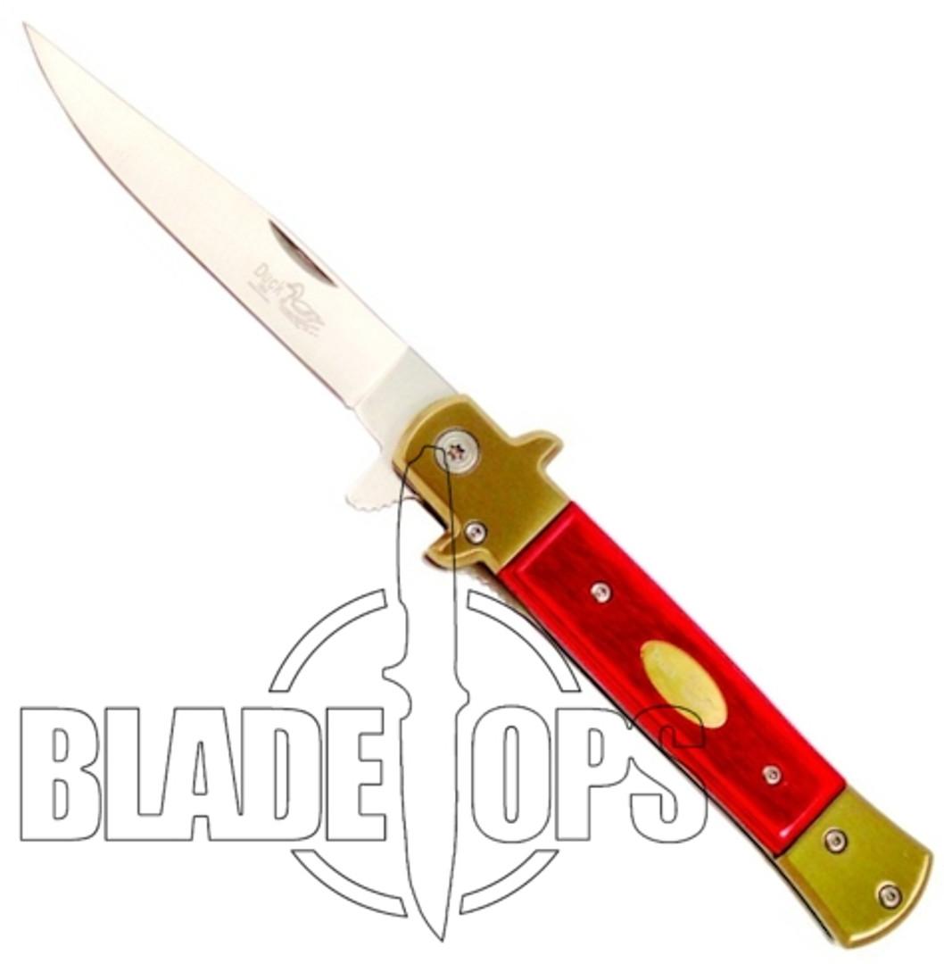 The General Spring Assist Knife, Pakkawood Handle