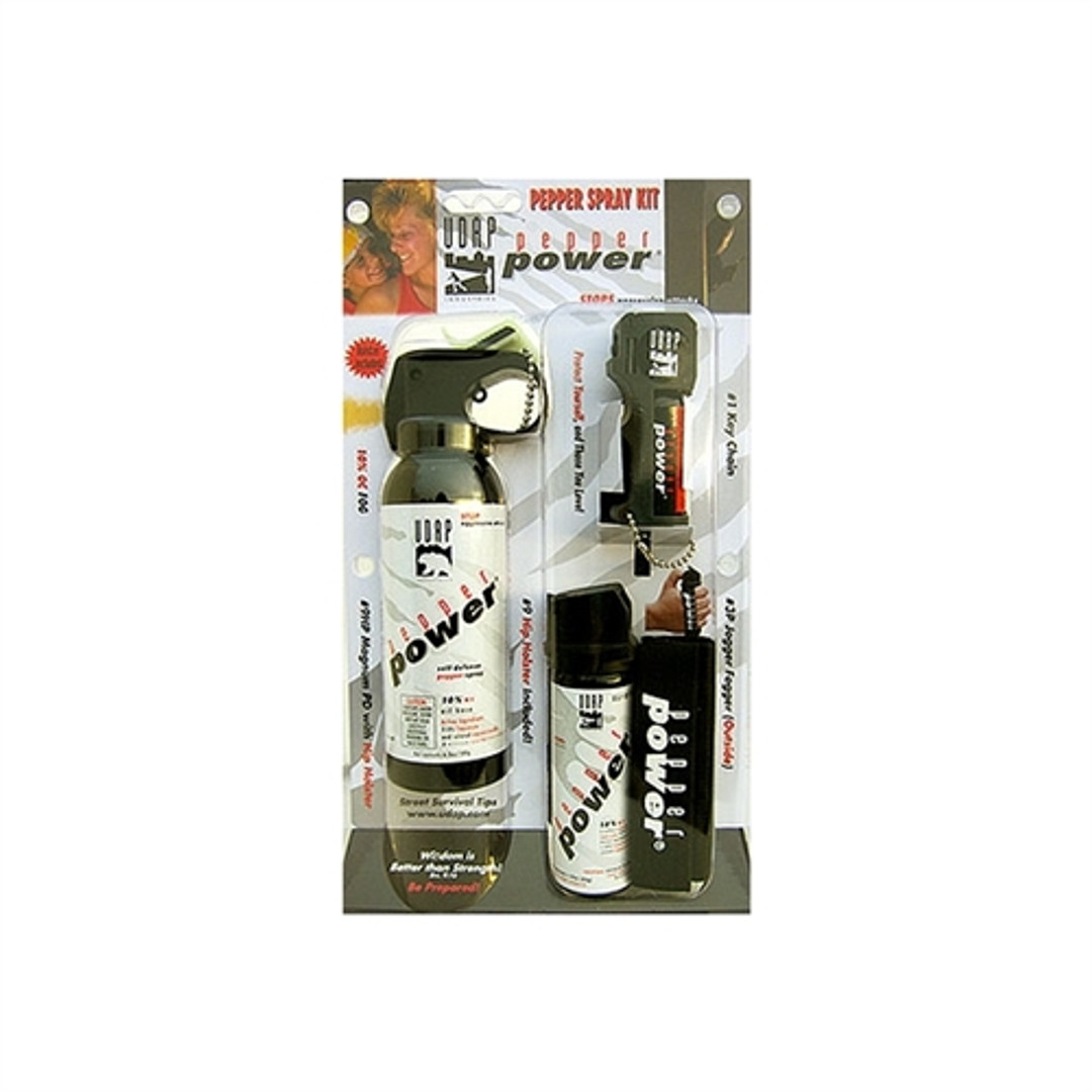 UDAP Industries Pepper Spray Kit, 3-Pack with Holsters