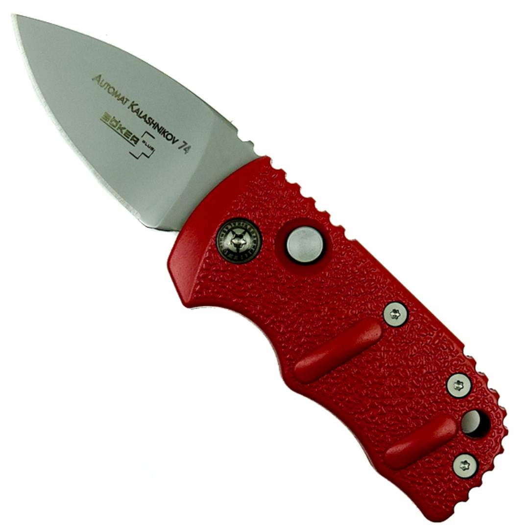 "Boker Red Sub Kalashnikov Auto Knife, 1.95"" Blade [Exclusive]"