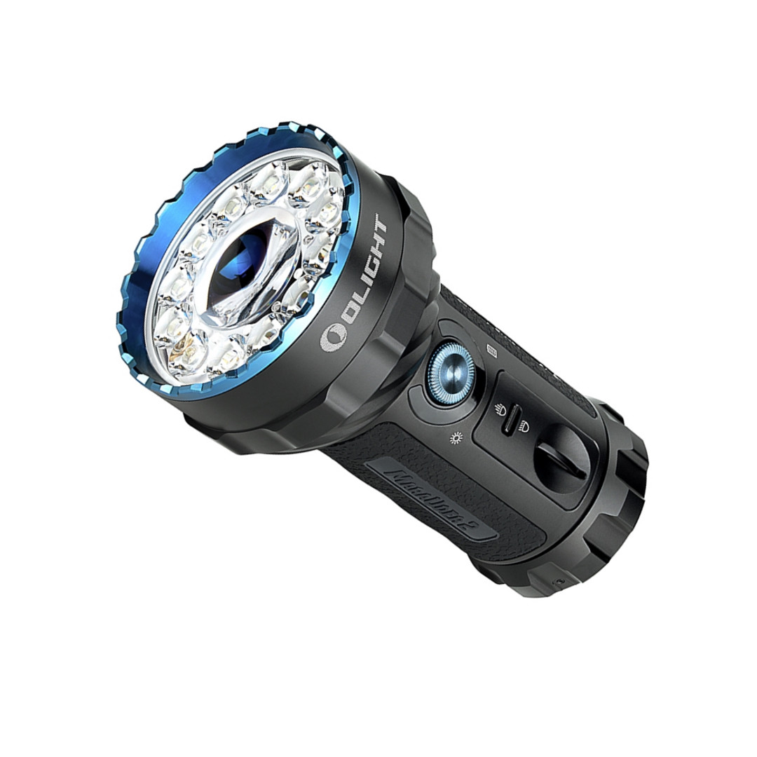 Olight Marauder 2 Rechargeable Floodlight, 14000 Lumens, Up