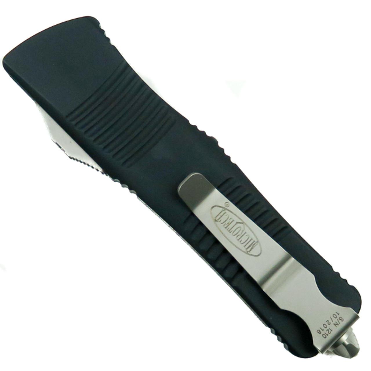Microtech 139-5 Troodon S/E OTF Auto Knife, Satin Combo Blade