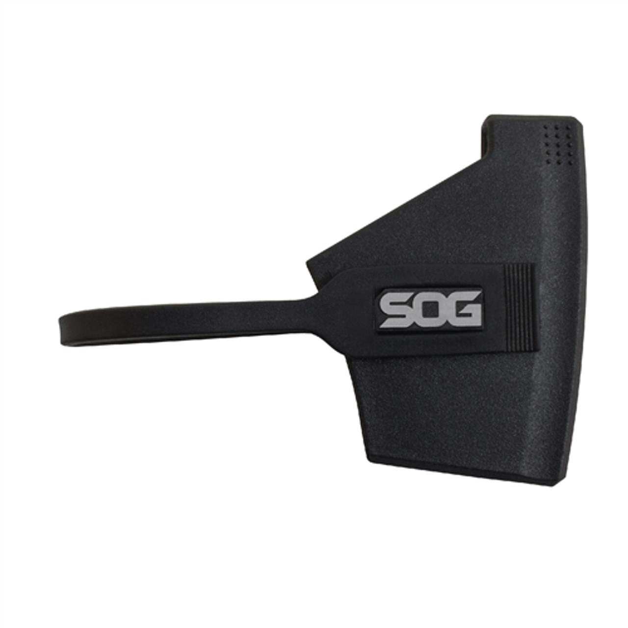 SOG CH-1001 Camp Axe Fixed Blade Knife, Satin Blade