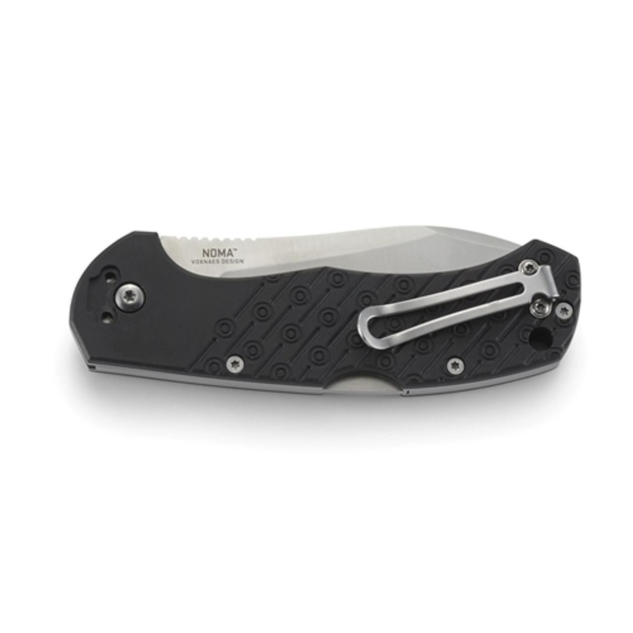CRKT 2815 Noma Folder Knife, Satin Blade