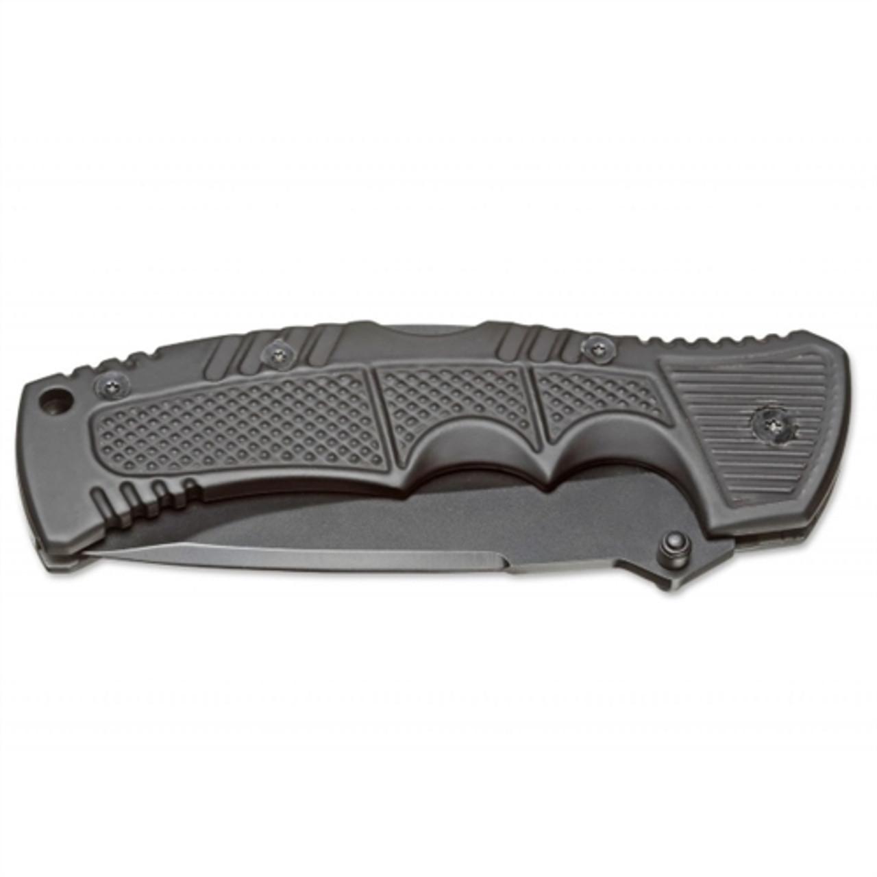 Boker Magnum 01MB712 Charlie Folder Knife, Black Combo Blade