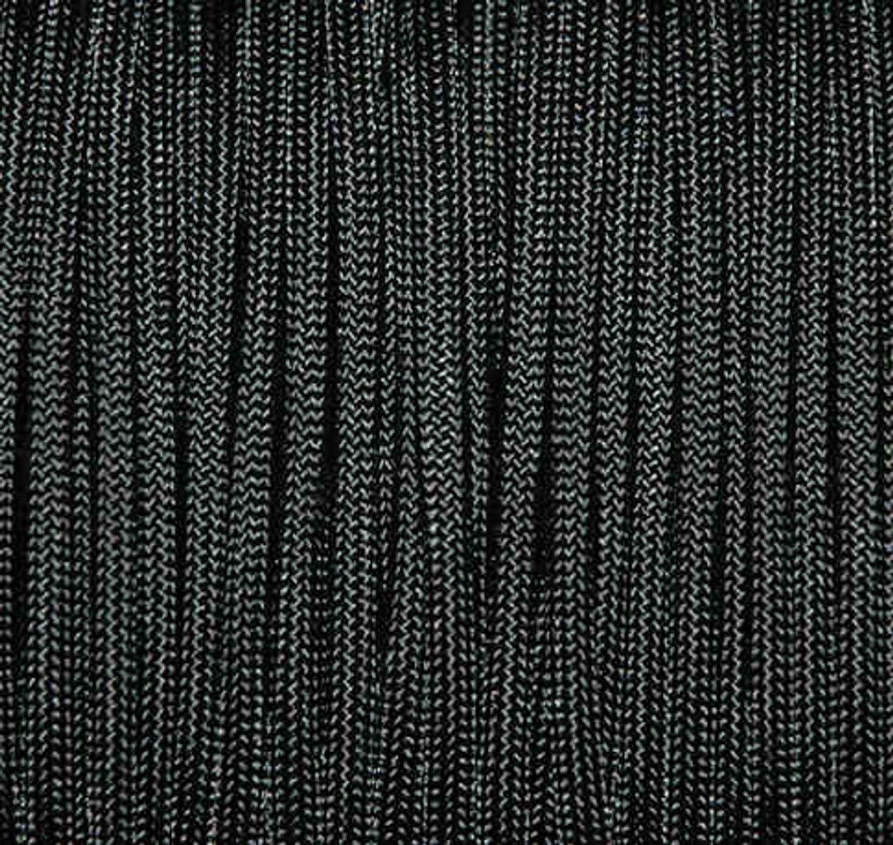 Paracord, 550 Mil-Spec, Black, 100'