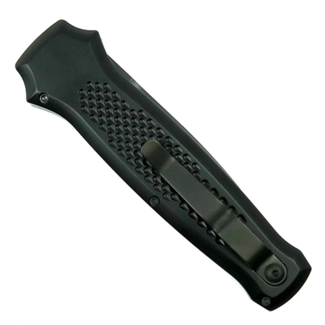 Piranha Prowler Auto Knife, 154CM Black Blade