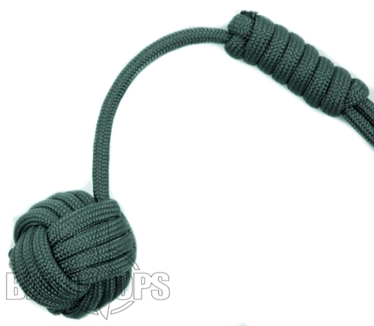 Sentinel Paracord Monkey Fist, Charcoal, 3/4 Inch