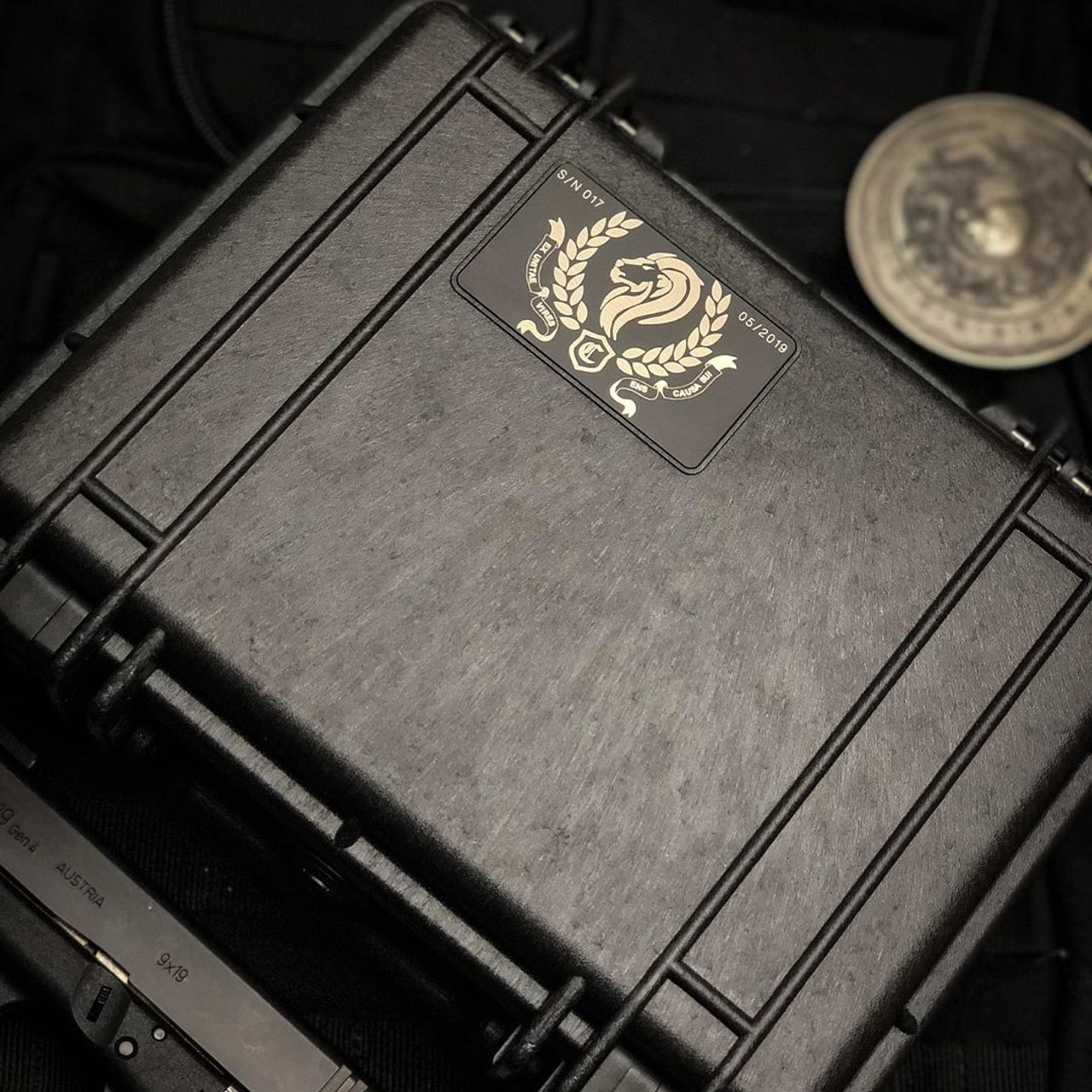 Marfione Custom Continental-3 Elite Set, Cypher Dagger & UTX-70 Spartan
