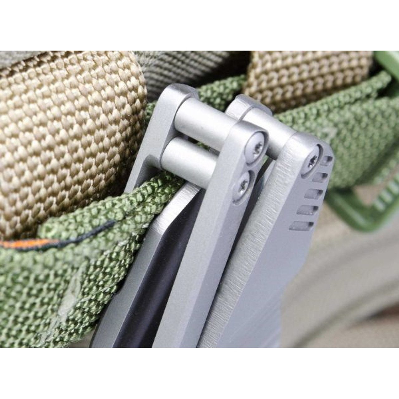 Boker Plus Federal Flipper Knife, Satin Blade POCKET CLIP VIEW