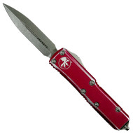 Microtech Distressed Red UTX-85 Knife Video