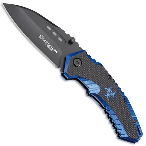 Boker Magnum Cobalt Strike Assist Knife, Black Blade
