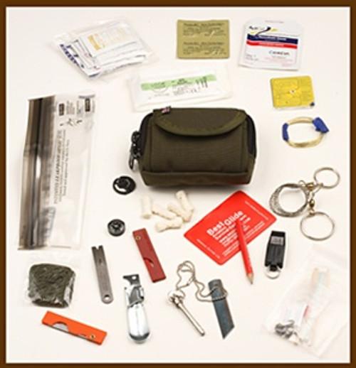 ESEE Rat Cutlery BASIC Professional Survival Kit/ E&E Pocket Emergency Kit