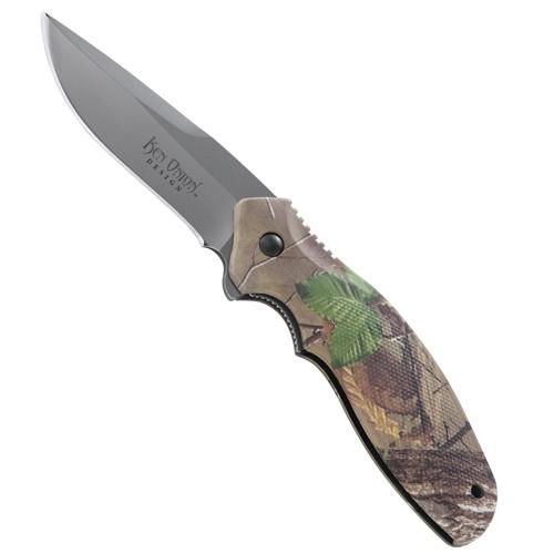 CRKT Onion Green Camo Shenanigan Folder Knife, Drop Point