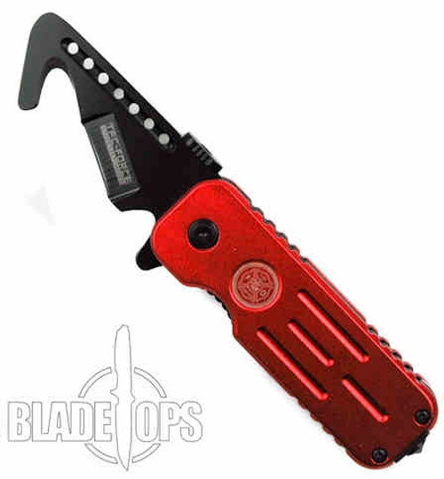 TacForce Fire Hook Spring Assist, Black Tactical Blade