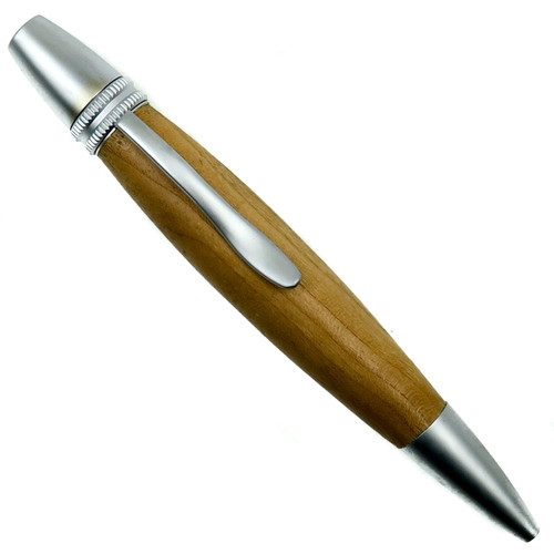 Loki Tool Cherry Ursa Minor Twist Pen, Satin Finish Front View