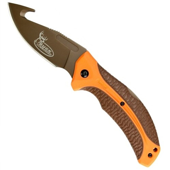 Kershaw Buck Commander LoneRock Folding Guthook Knife
