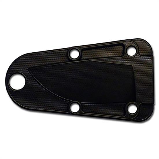 ESEE Knives Dark Earth Izula Fixed Blade Knife, Survival Kit, 1095 Carbon Dark Earth Blade, Sheath