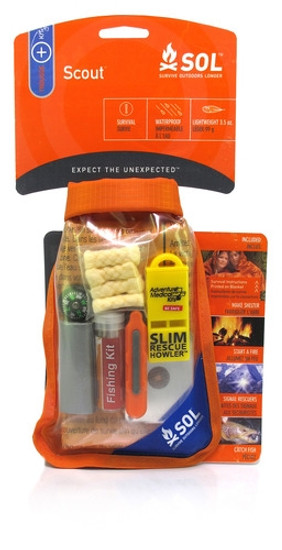 Adventure Medical Kits Pocket SOL Scout Pak, 0140-0727