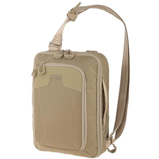 Maxpedition VALTAN AGR Valence Tech Sling Bag, Tan