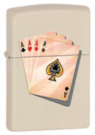 Four of A Kind Aces Zippo, 24795