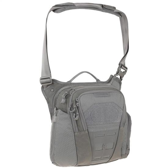 Maxpedition VLDGRY AGR Veldspar Crossbody Shoulder Bag, Grey