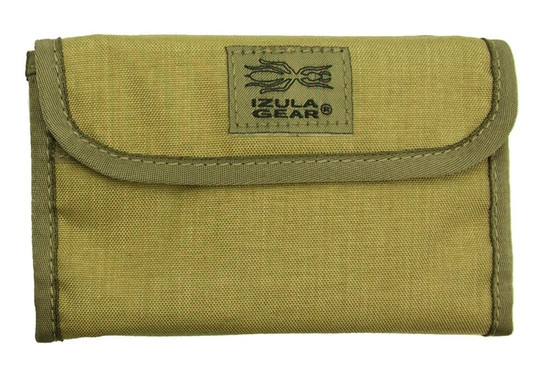 ESEE Izula Gear Passport Case with Bullet Pen, Tan