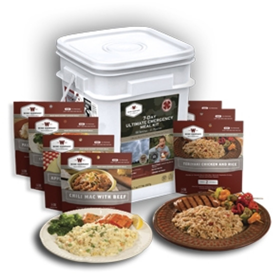 Wise Food Storage 7 Day Ultimate Emergency Meal Kit