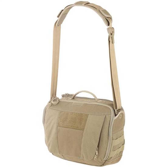 Maxpedition SKRTAN AGR Skyridge Tech Messenger Bag, Tan