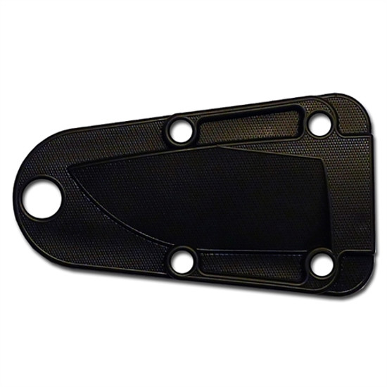 ESEE Knives Izula Fixed Blade Knife, 1095 Carbon Black Blade, sheath