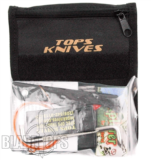 TOPS Knives Survival Neck Wallet, SNW-01