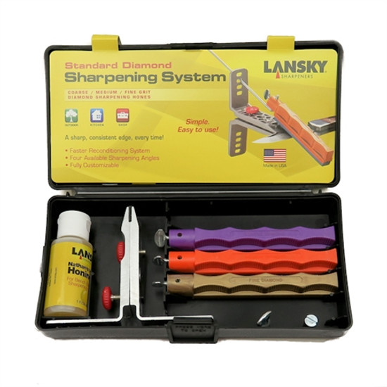Lansky Standard Diamond Knife Sharpening System