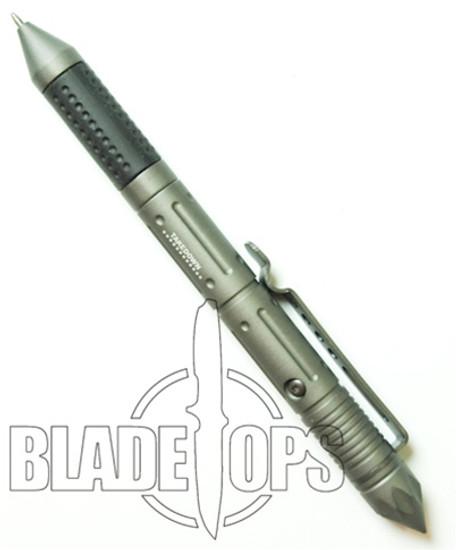 Takedown Self Defense Pen with Glass Breaker, Grey