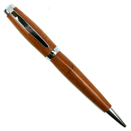 Loki Tool Mahogany Master Chrome Twist Pen picture